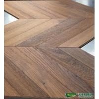 Wholesale 45 Fish bone teak Herringbone engineered wood flooring  Teak art parquet from china suppliers
