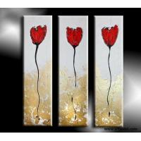 Best Price For 100 Hand Painted Flower Decoration Group Oil Painting On Canvas Of Ec90087154
