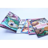 Wholesale Glue Binding CookBook Printing With Spot UV , Recycled Glossy Art Paper from china suppliers