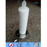 Quality PP Filter Cartridge N6 PTFE With Deep Filtration / Large Filtration Area for sale