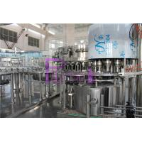 Wholesale DCGF40-40-12 Carbonated Drink Filling Machine for Plastic screw cap PET bottles from china suppliers