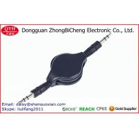 Wholesale Promotional mini retractable car audio aux 3.5mm stereo cable from china suppliers
