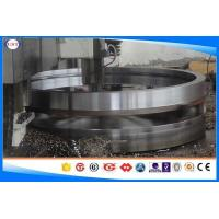 Wholesale EN36A Heavy - Duty Gears Forged Steel Rings Black / Bright / Polished Surface from china suppliers
