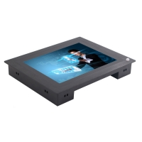 Wholesale Front Bezel 3MM Industrial Panel Mount Monitor 1xUSB from china suppliers