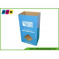 POP Corrugated Dump Bin Display Case Stacker Stand For Sporting Balls DB039