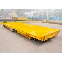 China large table electric steel coil handling railway trailer precise ...