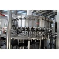 China 2.2KW PET bottles Soda water filling machine system 18 heads 3,000BPH (500ml) Capability wholesale