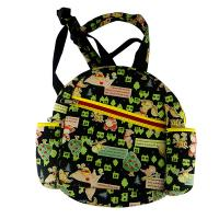 Wholesale neoprene child backpack laminated with sublimation jeans.two side pocket for milk bottle from china suppliers