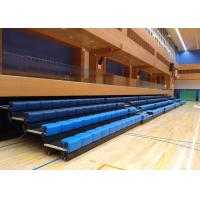 Wholesale Power Control Retractable Grandstands Retractable Seating System Recessed Polymer Bench from china suppliers