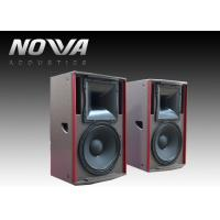China 450 W Full Range Speakers 8ohm 127dB For Stage Events , Textured Black Paint on sale