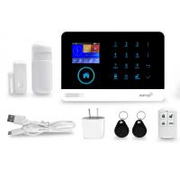 Buy cheap WIFI GSM Wireless Security Alarm System App Control 99 Wireless Zones from wholesalers