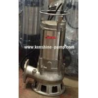 Wholesale S Series stainless steel submersible sewage pump from china suppliers