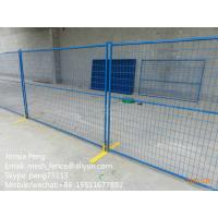 Wholesale welded mesh temporary fence with frames in building site for Canada Market from china suppliers