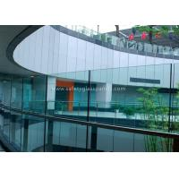China 6mm Safety Glass fencing Tempered Laminated Glass for Pool Fence Glass Railing wholesale