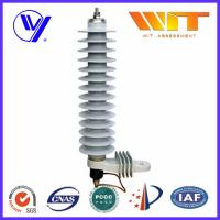 Quality 36KV Medium Voltage Single Phase Surge Arrester For 10KA Transformer for sale