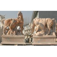 Wholesale Horse stone sculpture for garden from china suppliers