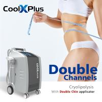 China Double Channel cryolipolysis machine 4 handles Lipo Suction Cryo Freeze Fat Loss weight Vacuum Slimming Beauty equipment on sale