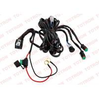 oem led light bar wiring harness with switch and relay ... wiring harness channel