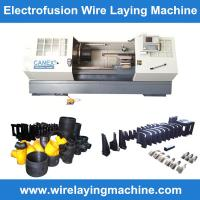 Wholesale canex wire laying machine molds manufacturing electro fusion fittings, pe coupling wire la from china suppliers
