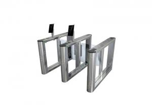 Wholesale OEM Supermarket Swing Barrier Gate,1.5 Thickness 304 Stainless Steel Turnstile from china suppliers