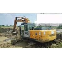 Buy cheap Yellow Excavator Grab Attachment Used Excavator Hyundai 225 -7 from wholesalers