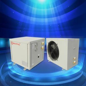 High Temperature Air Source Heat Pump , Fresh Air Heating And Cooling Hybrid Heat Pump