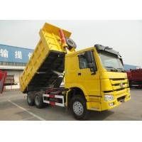 Wholesale 6x4 SINOTRUK HOWO End Dump Truck / Heavy Duty Tipper Lorry from china suppliers