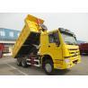 Buy cheap 6x4 SINOTRUK HOWO End Dump Truck / Heavy Duty Tipper Lorry from wholesalers