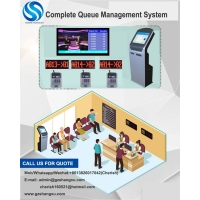 Electronic Queue Management System for Banks/Hospitals/Cliniccs/Consulates/University