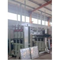 Buy cheap SBT double room hydraulic recycled cotton fiber baling machine waste cotton from wholesalers