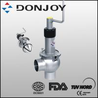 DN 25-DN100 Clamped Stainless Steel 304 Regulating valve Standard Normally Closed