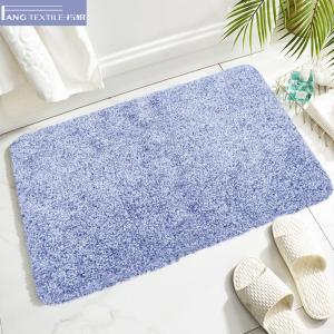 Wholesale Yarn Fastness D4 Microfiber Latex Backed Bath Mats Eco Friendly from china suppliers