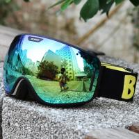 Wholesale Popular UV400 Men'S Mirrored Ski Goggles Soft Strap For Snowy Conditions from china suppliers