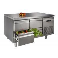 Wholesale Stainless Steel Table Top Freezer , Four Drawer Commercial Undercounter Refrigerator from china suppliers