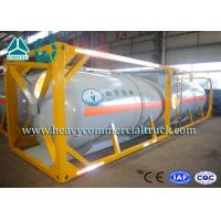 High Strength Container Transport Triple Axle Trailer With Emergency Valve