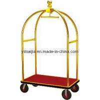 Wholesale Hotel Bellman Cart/ Baggage Trolley/ Stainless Steel Bellman Trolley in Hote from china suppliers