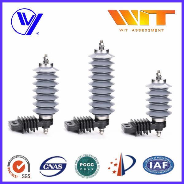 Quality 10KA Polymer Surge Protection Varistor Lightning Arrester 18KV for sale