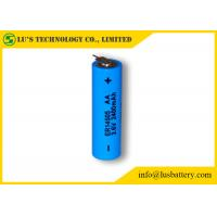 Wholesale ER14505 Size AA 3.6 V 2.4Ah Lithium Thionyl Chloride Battery 3.6v 2400mah disposable batteries size AA from china suppliers