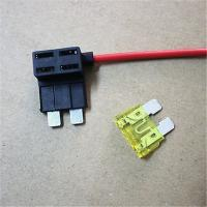Add A Circuit Fuse Tap Piggy Standard Blade Fuse Holder ATO ACU 12v+ 5A Fuse