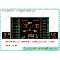 Wireless Electronic Basketball Scoreboard And Shot Clock With Play Time And Buzzer