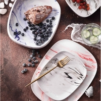 Wholesale Multi Colored 30cm Salad Plates Ceramic Stoneware Dinnerware Sets from china suppliers
