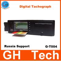 Wholesale GPS Digital Tachograph GH G-T004 with printer/RS232 for Car/Bus Speed sensor Support Russian GPS / Glonass System from china suppliers