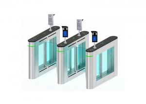 Wholesale 304 Stainless Steel Swing Barrier Gate Compatic IC ID Cards IR Sensor Turnstile from china suppliers