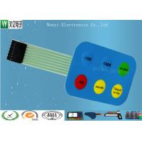 Wholesale 12mm Non Tactile Embossing Membrane Switch 7 Pin 2.54 mm Pitch Female Connector from china suppliers