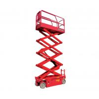 Wholesale 10m 32ft Height Lift CE Certified Self Propelled Electric Scissor Lift Long Life Time from china suppliers