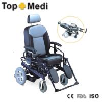 Wholesale TEW122LGC TopMedi foldable power wheelchair from china suppliers