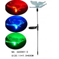 Wholesale Colorful led Butterfly Solar Stake Light Yard Decor from china suppliers