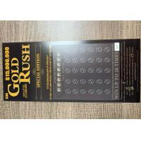 Wholesale High Quality Scratch Card Printing Lucky Card Scratch Off Lottery Tickets from china suppliers