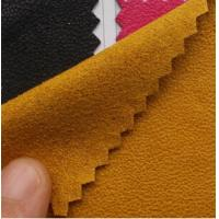 Wholesale Plain coloured faux suede from china suppliers