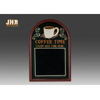 Wholesale Decorative Wooden Framed Wall Hanging Chalkboards Coffee Time Wall Sign from china suppliers